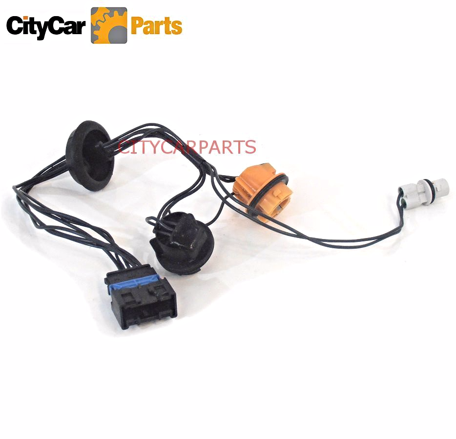 CITROEN C4 MODELS 5 DOOR 2004 TO 08 DRIVER SIDE REAR BULB HOLDER WIRING  HARNESS